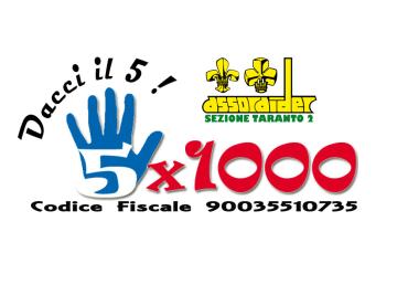 Donaci il 5 per mille